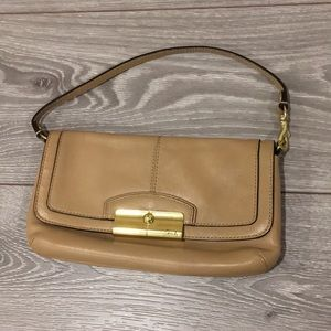 2/$28 Coach Small Leather Clutch